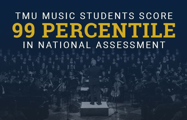 TMU Music Students Score 99 Percentile in National Assessment image