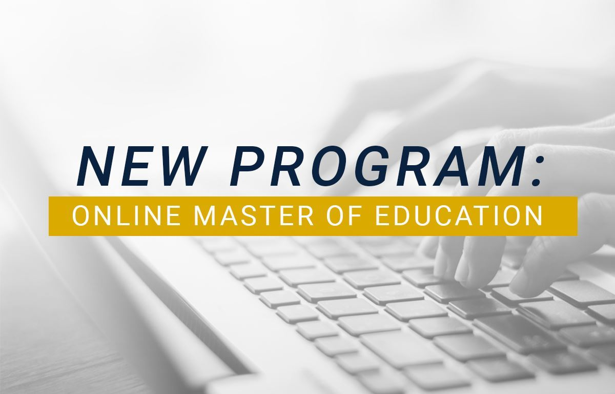 TMU's fully-online M.Ed. Program image