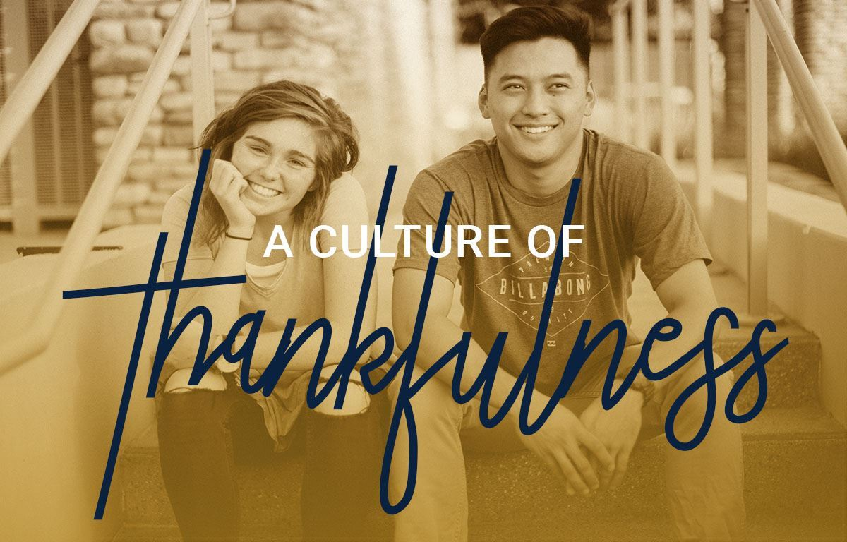 A Culture of Thankfulness image