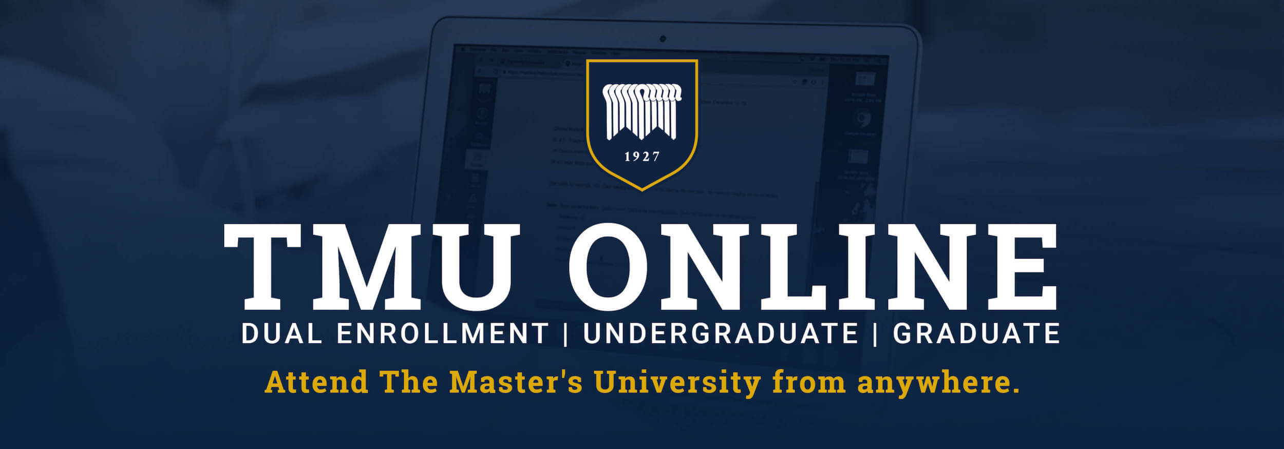 The masters university click the button to learn more about our online offerings learn more academics view programs xflitez Images