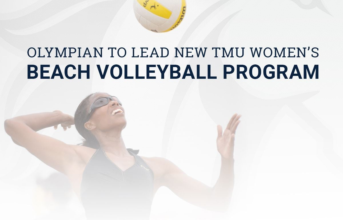 Olympian to lead new women's beach volleyball program at Master's image