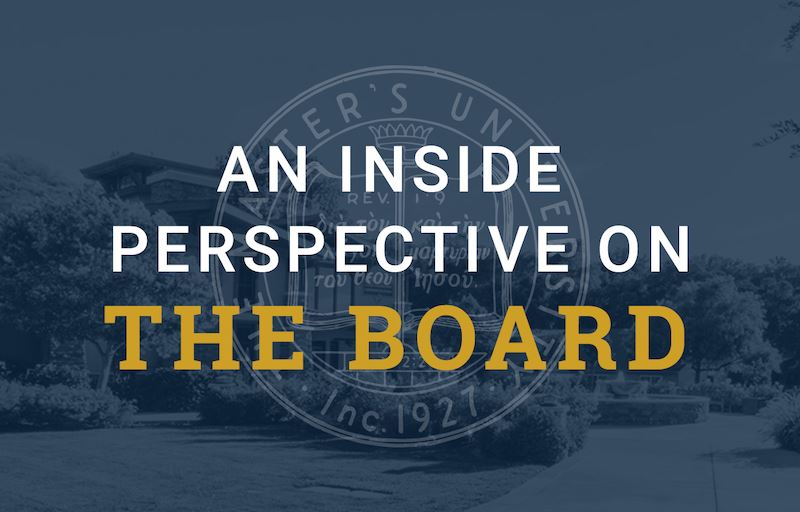 An Inside Perspective on The Board image