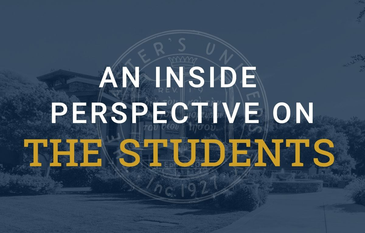 An Inside Perspective on the students image