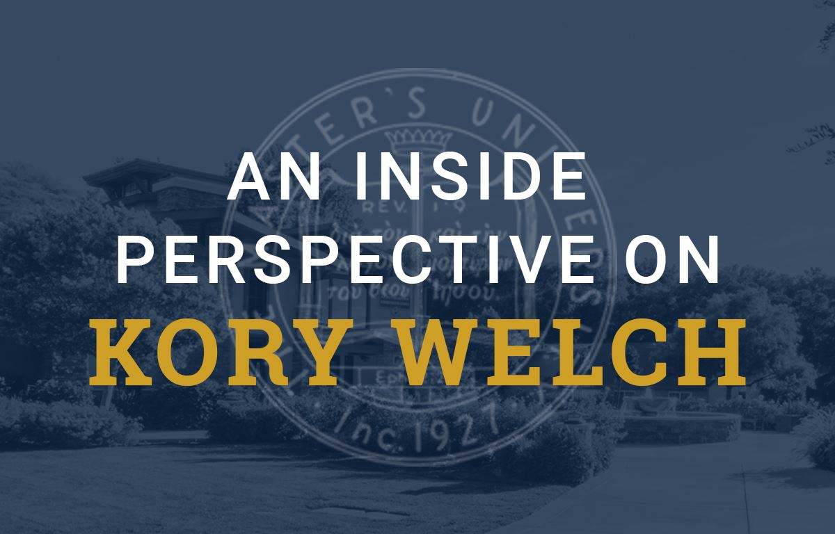 An Inside Perspective on Kory Welch image