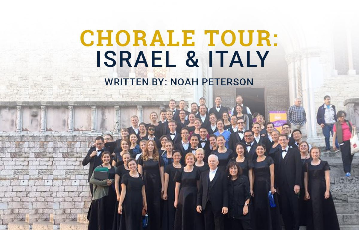 Chorale Tour: Israel & Italy image