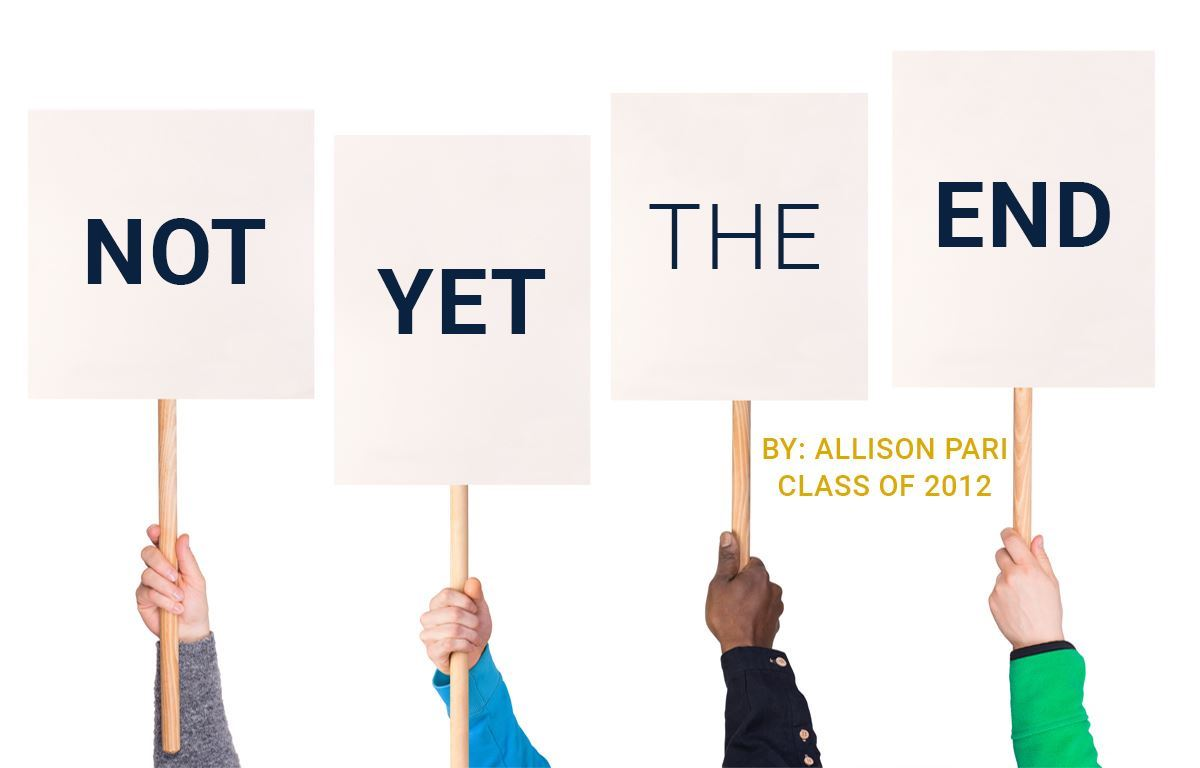 Not Yet the End image