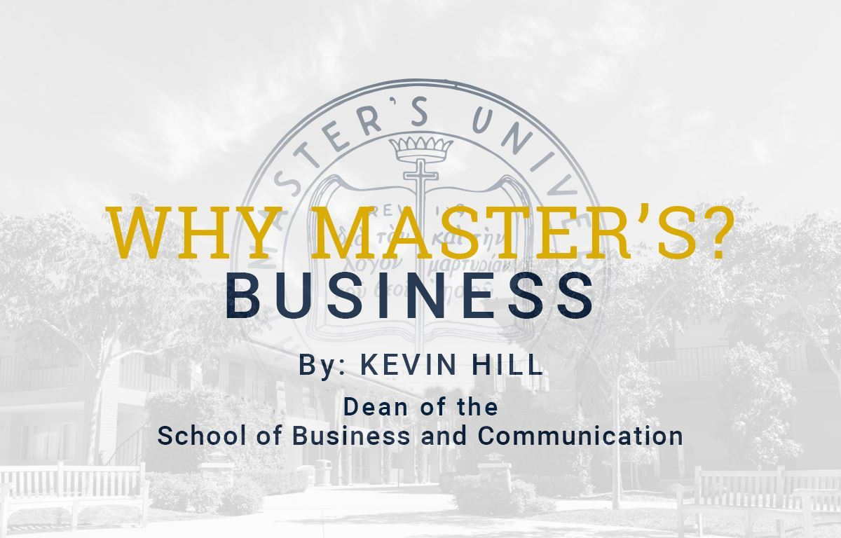 Why Business at TMU?