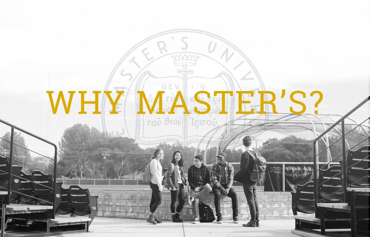 Why Master's? image